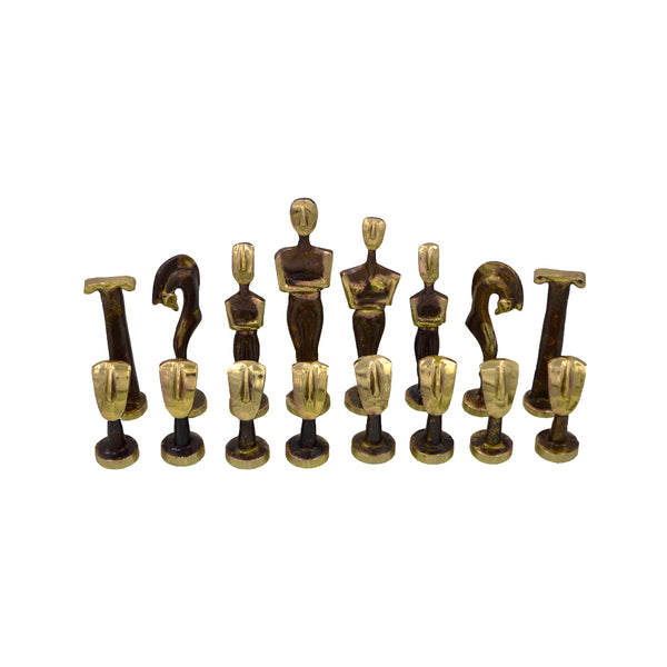 Chessmen bronze