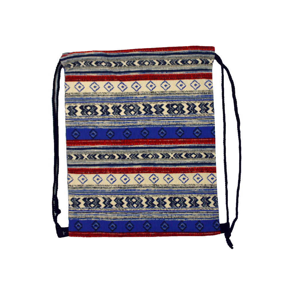 Bag with different color lines and figures 40cm