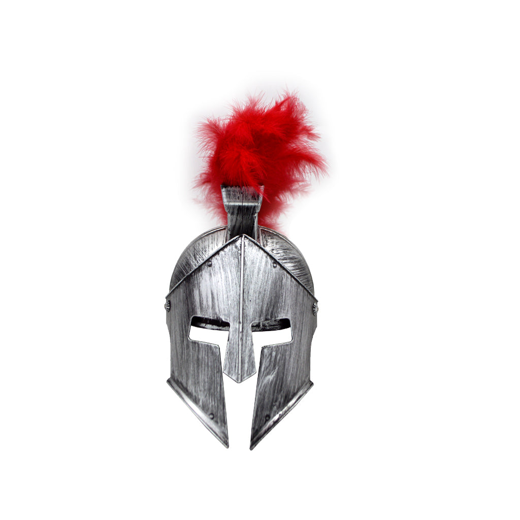 Spartan helmet light grey 31cm