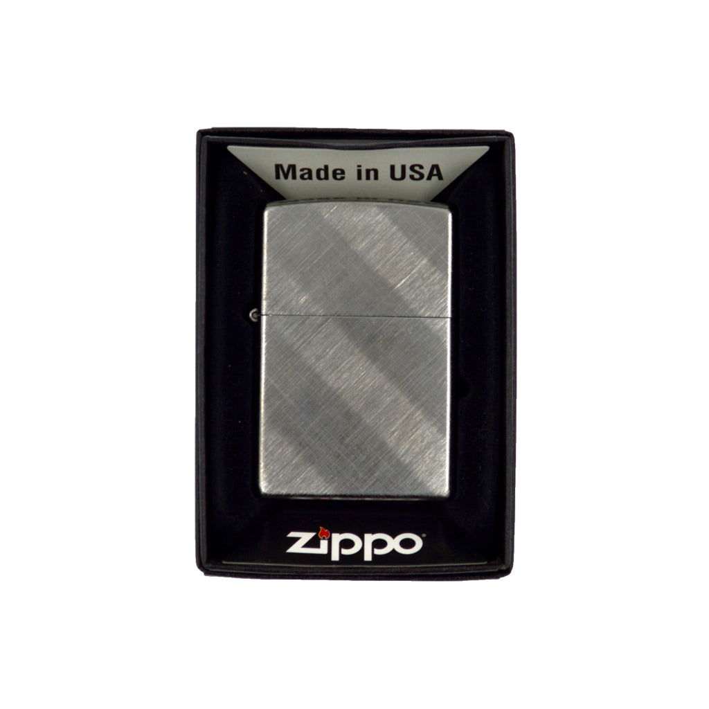 Zippo classic with lines (silver) 6cm
