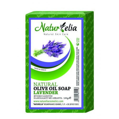 Soap olive oil & lavender 100gr