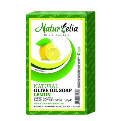 Soap olive oil & lemon 100gr