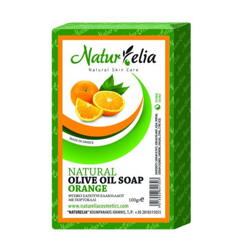 Soap with Olive Oil & Orange 100gr