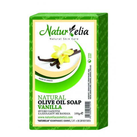 Soap olive oil & vanilla 100gr