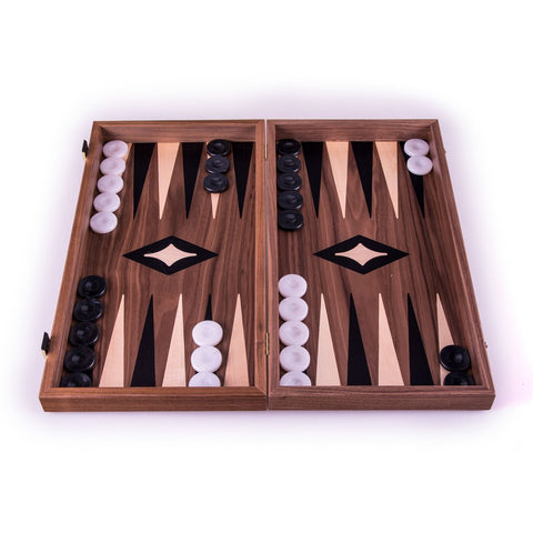 Walnut Chess and Backgammon 38 x 20 cm