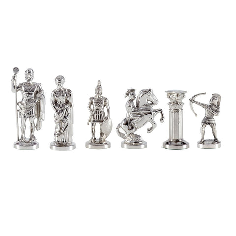 Chess pieces Greek mythology figures 9.7cm (silver) version 3