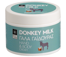 Hand and Body cream donkey milk