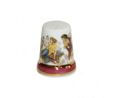 Thimble art 3cm colorful