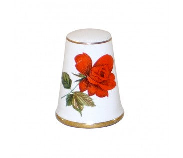 Thimble flowers 3cm white