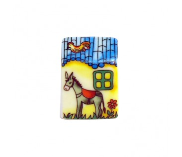 Thimble donkey 3cm colorful