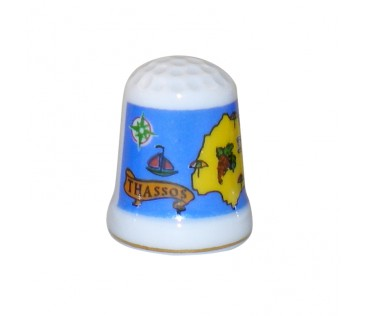 Thimble map 3cm white