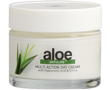 Multi-action day cream with hyaluronic acid and citrus