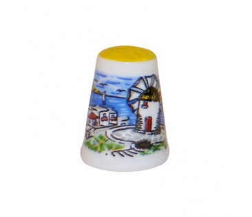 Thimble island region 3cm yellow