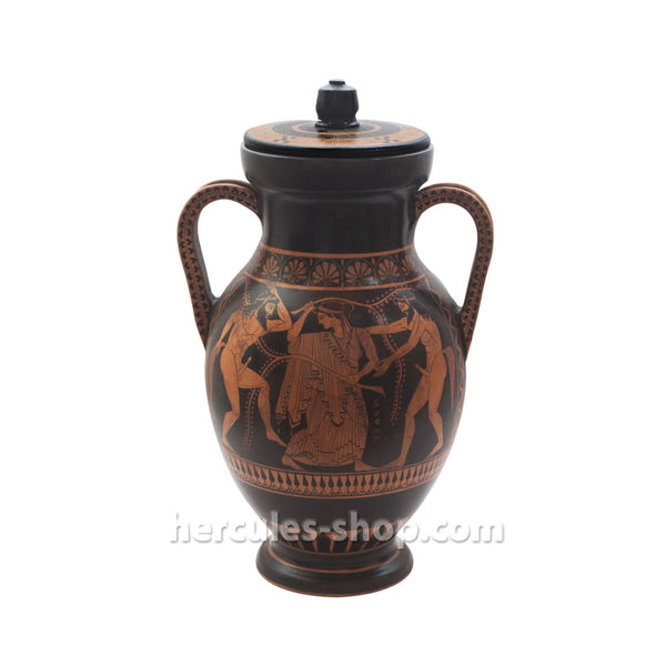 Red figured amphora