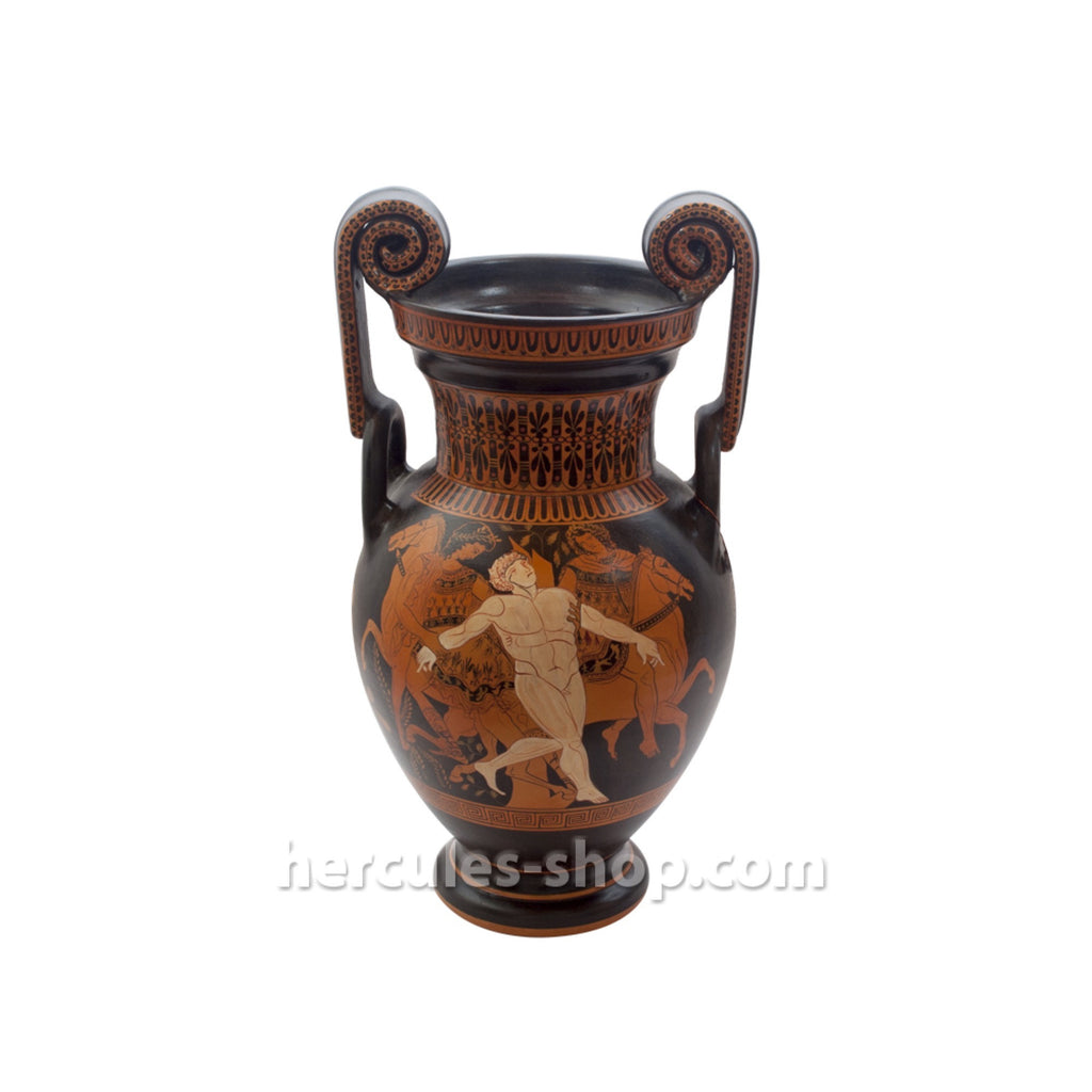 Red figured volute krater