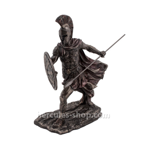 Achilles with spear and shield 29cm