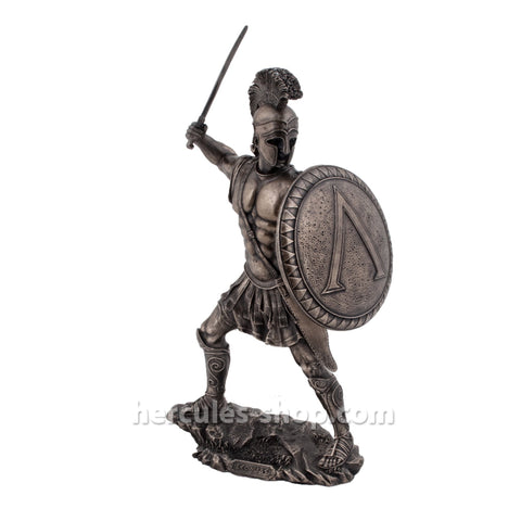 Leonidas Greek warrior king of sparta with sword and shield  33cm