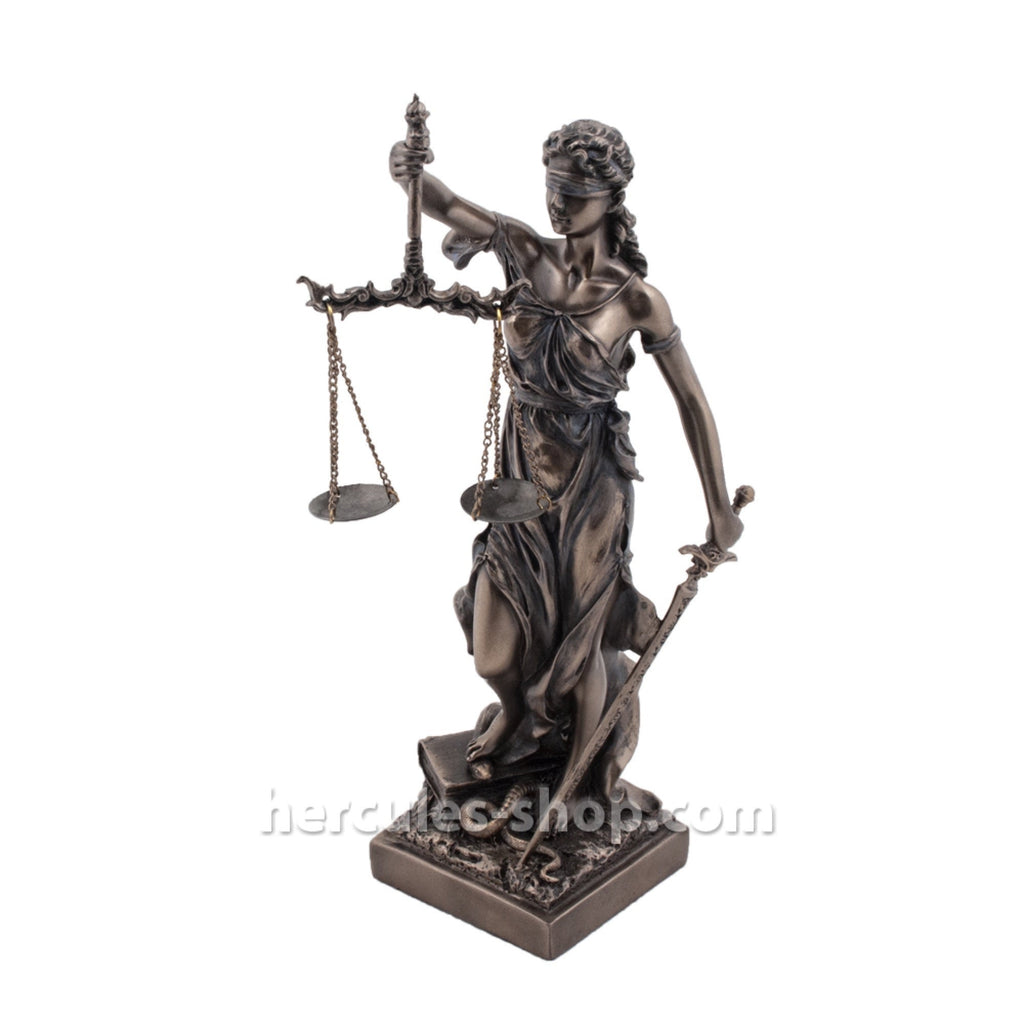 Justitia (Themis) goddess of divine justice 32cm