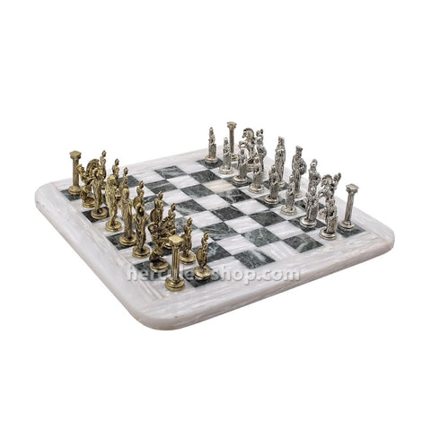 Warrior chess set 35cm