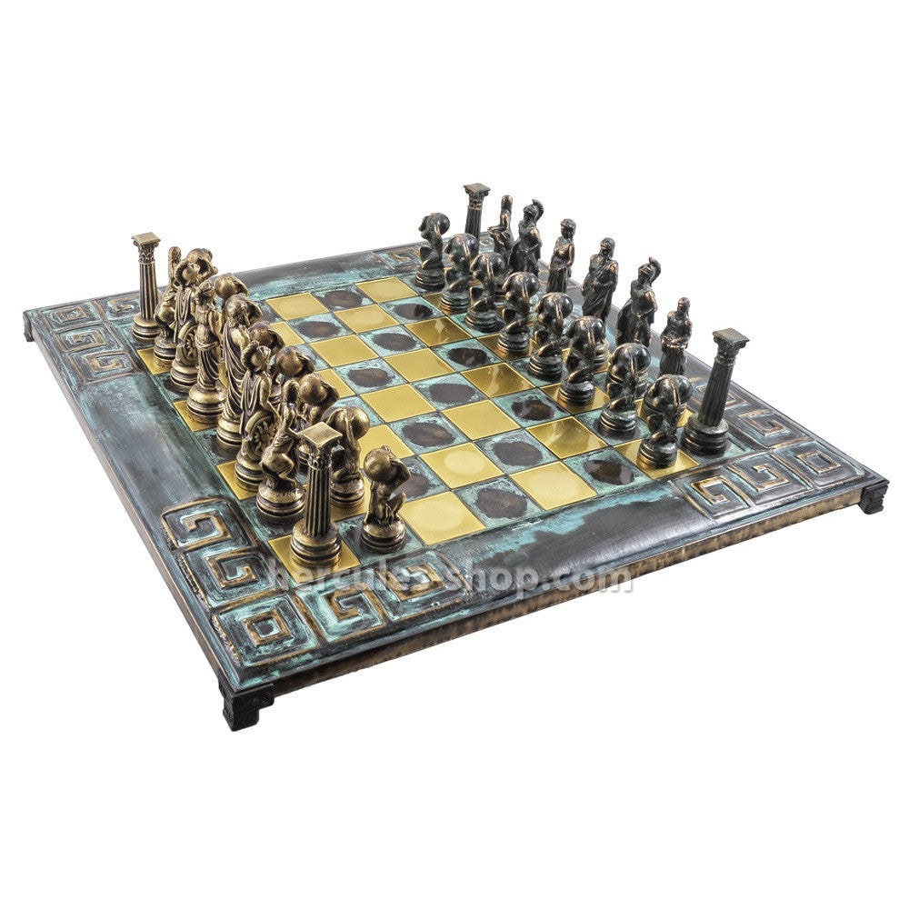 Atlas chess set 46cm