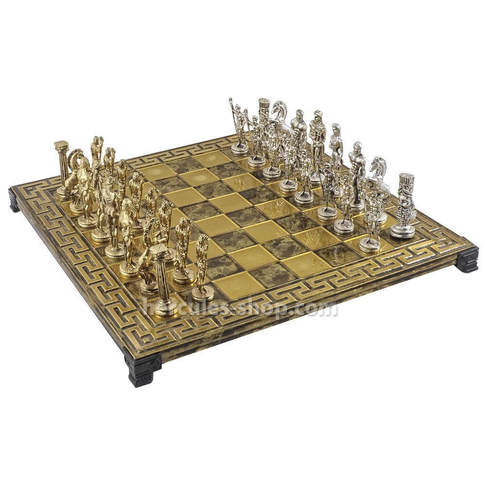Soldiers chess set