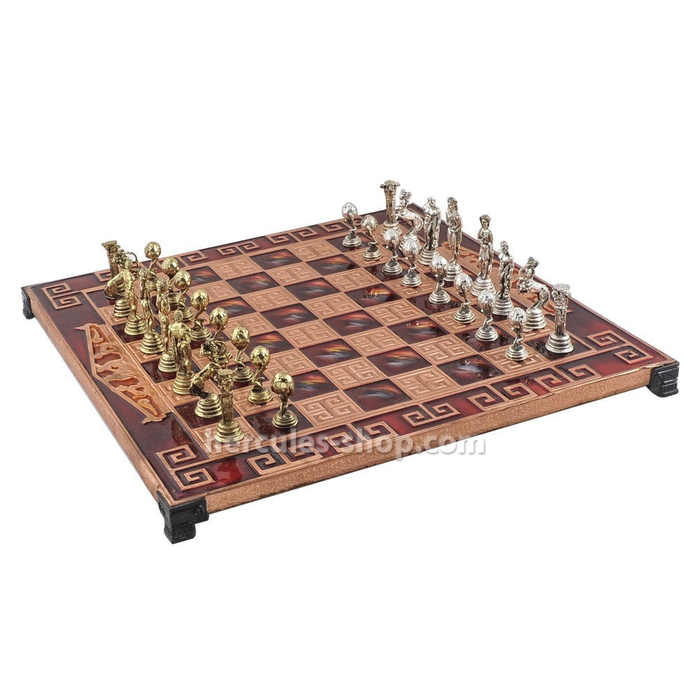 Atlas chess set 35cm
