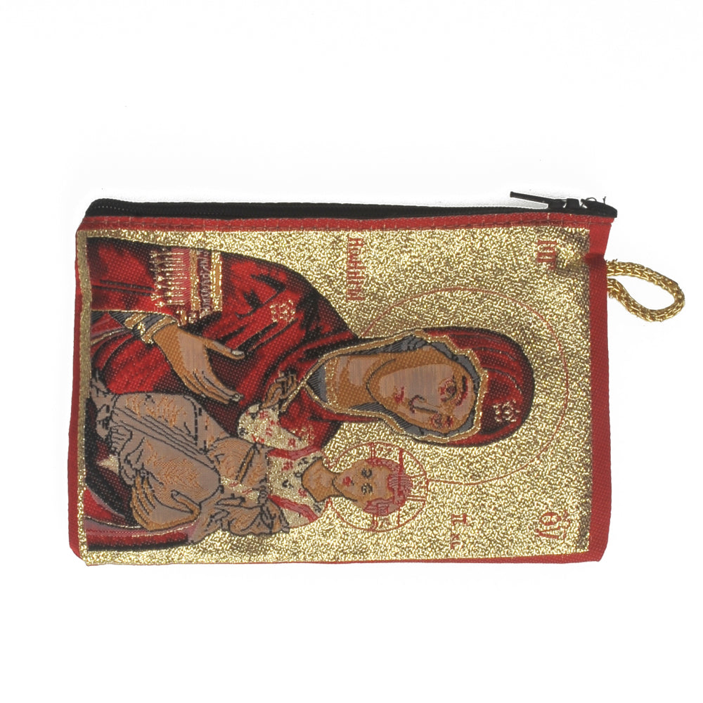 Purse with Virgin Mary and Jesus 16cm