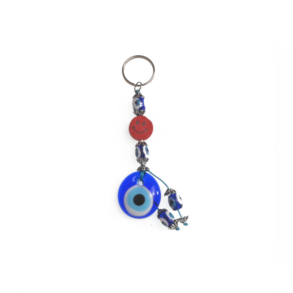 Keychain charm for the evil eye red 10cm
