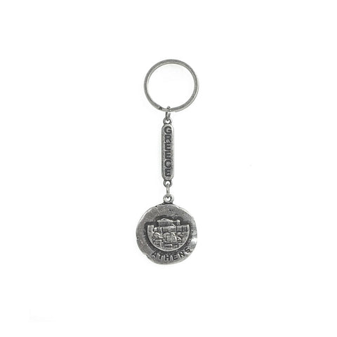 Keychain acropolis,athens and greece logo 10cm