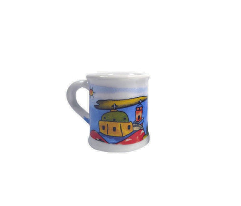 Espresso mug church 7cm White