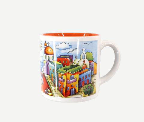 Espresso mug city 7cm in 2 colors