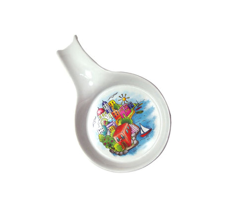 Porcelain ladle island 20cm colorful