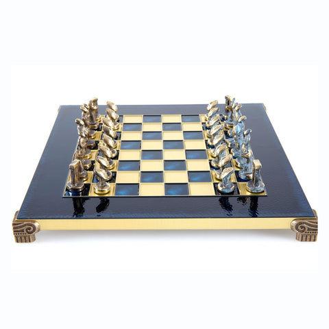 Chess set Cycladic art 28cm