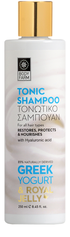 TONIC SHAMPOO Greek Yogurt & Royal jelly
