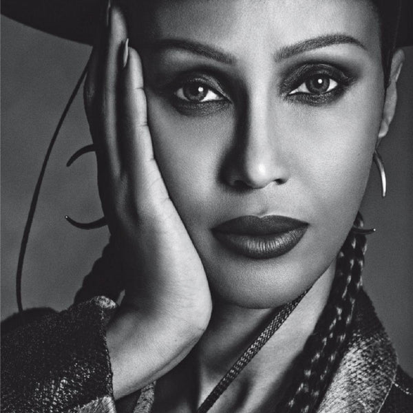 Captured: Iman in Vogue Italia by Luigi & Iango