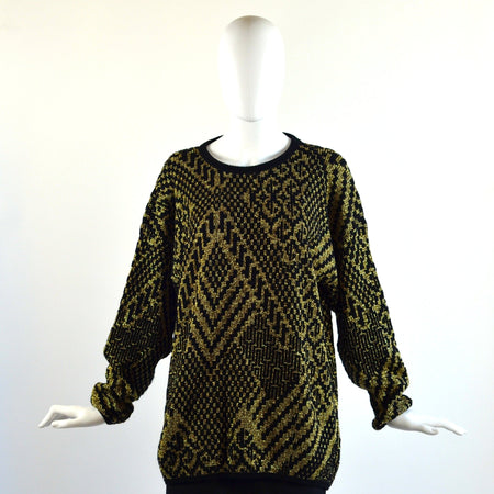 Pre Owned Zebra Silk Top