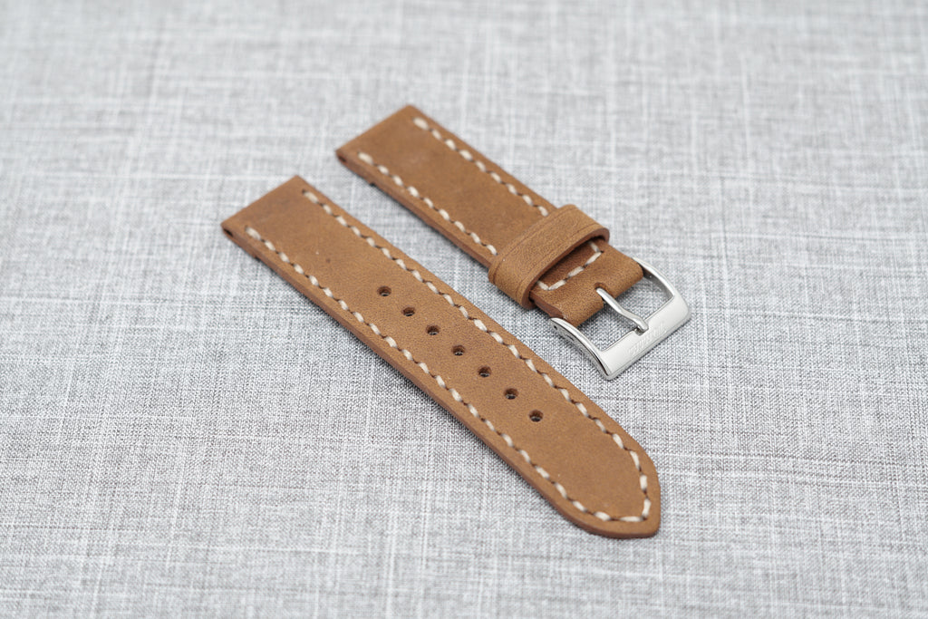 Horween Peanut Dryden | Natural Thread - The Sierra Premium