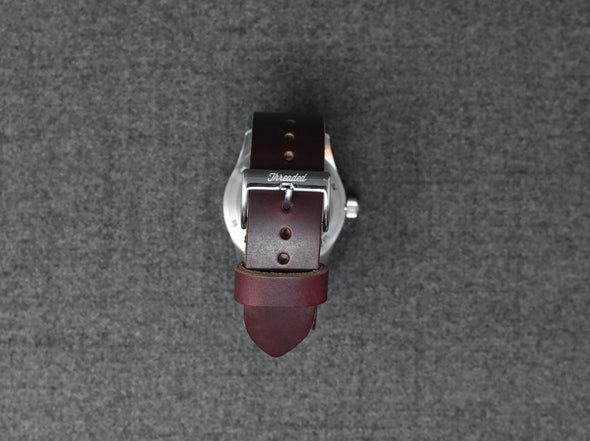 Horween Color 8 Chromexcel | Cocoa Thread - The Hudson Strap