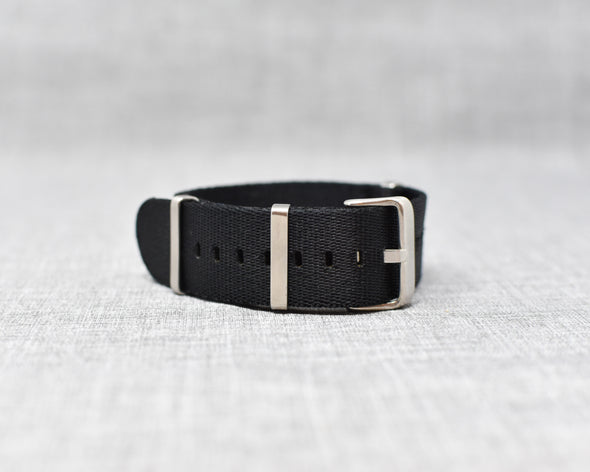 The Henry Premium NATO Style Watch Strap | Black