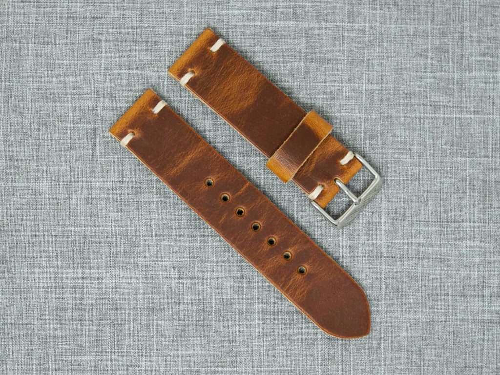 Horween English Tan Dublin | Natural Thread