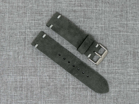 Horween Castle Rock Dryden | White Thread - The Hudson Strap