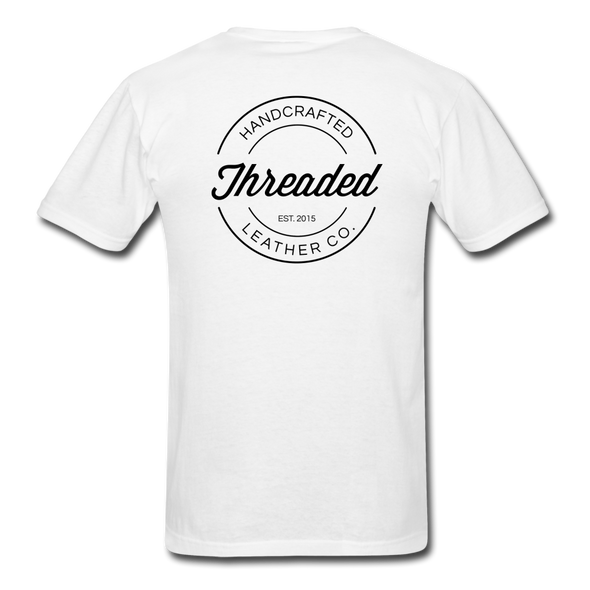 Threaded Leather Co. T-Shirt - white