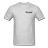 Threaded Leather Co. T-Shirt - heather gray