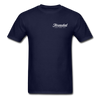 Threaded Leather Co. T-Shirt - navy
