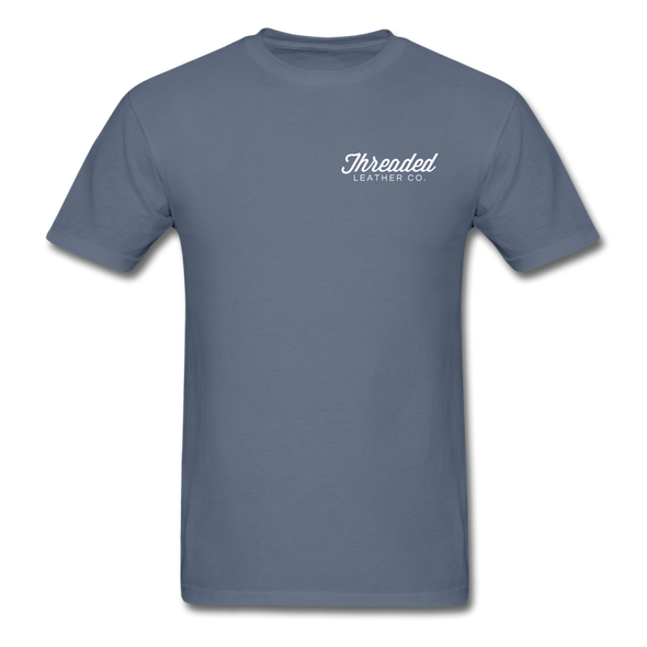 Threaded Leather Co. T-Shirt - denim