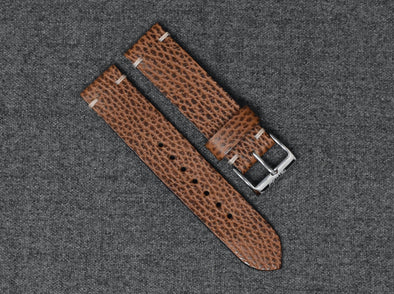 Conceria Walpier Whiskey Dollaro | Natural Thread - The Hudson Strap