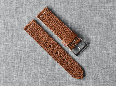 Conceria Walpier Whiskey Dollaro | Natural Thread - The Potomac Strap