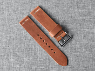 Horween Natural Dublin | Natural Thread - The Potomac Strap
