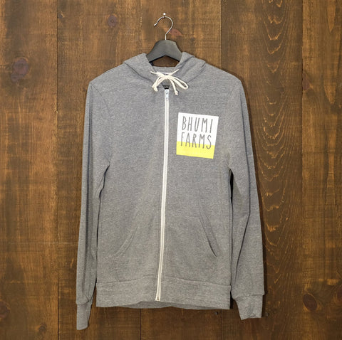 Bhumi Farms Zip Fleece Hoodie