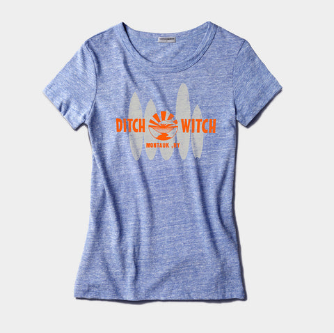 Ditch Witch Tri-Blend Tee - Women's